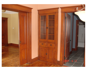 Original woodwork, pocket doors and hardwood floors are just a few extras featured in some NNN Homes.