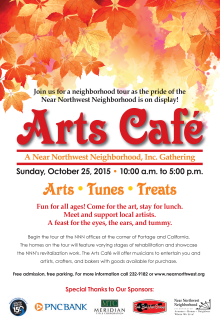Arts Cafe Poster 2015 - small